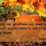 Thanksgiving Thoughts 2018
